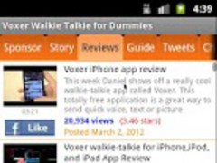 Voxer Walkie Talkie forDummies 1.00 Screenshot