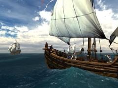 Voyage of Columbus 3D Screensaver 1.2 Screenshot