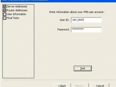 VPN Dialer 2012.05.22 Screenshot