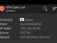 VPN Gate List (Best Free VPN) 1 4 3 Free Download
