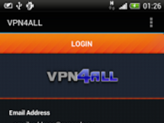 VPN4ALL Mobile 1.5.02 Screenshot