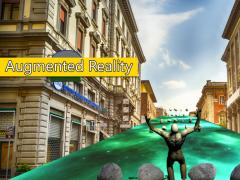 VR & AR Space Run 3.0 Screenshot