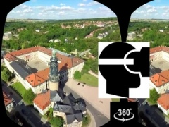 VR Helicopter Flight Weimar Virtual Reality 360 1.0 Screenshot
