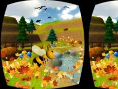 VR Honey Bee Flying Simulator - Pollination Game 1.0 Screenshot