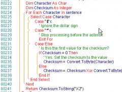 VS.NETcodePrint 2003 7.2.5 Screenshot