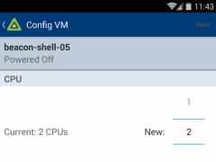 vSphere Mobile Watchlist 1.5.050000 Screenshot