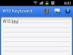 W10 Keyboard PRO Trial 1.02 Screenshot