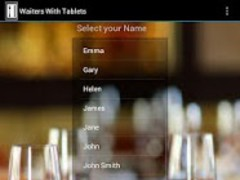 Waiters With Tablets 1.0 Screenshot