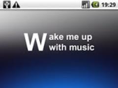Wake me up with music (free) 1.0 Screenshot