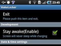 WakeLocker for Galaxy S 1.4.883 Screenshot