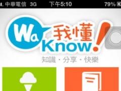 WaKnow 1.0 Screenshot