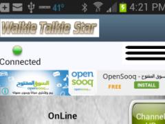 Walkie Talkie Star PTT 1.2 Screenshot