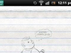 Walking Pencil Sketch 1.0 Screenshot