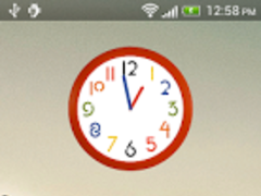 Wall Clock Widget 1.0 Screenshot