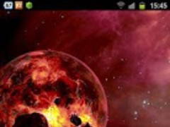 Wallpaper Inferno Galaxy 1.0.1 Screenshot