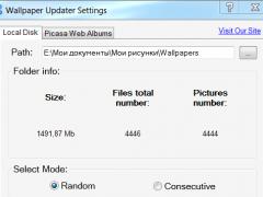 Wallpaper Updater 2.5 Screenshot