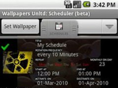 Wallpapers: Scheduler Free 1.0 Screenshot
