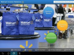 Walmart Investor Relations App 2.0 Screenshot