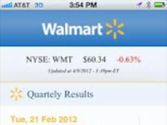 Walmart Investor Relations 2.0 Screenshot