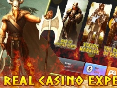 """War of Vikings Clans"" Slot Machine - Play A Golden Era Throne Game in A Voyage Casino! 1.0 Screenshot"