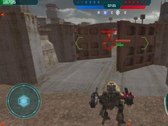 Review Screenshot - War Game – Destroy Robots and Rule the World
