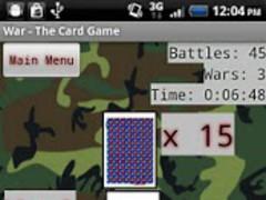 War - The Card Game 1.6 Screenshot