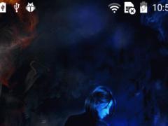 Warlike girl live wallpaper 1.0 Screenshot