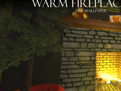 Warm Fireplace Live Wallpaper 1.0 Screenshot