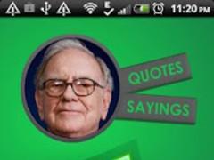 Warren Buffett Quotes Says 1.0 Screenshot