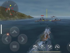 Review Screenshot - 3D War Game – Steer Your Warships to Victory