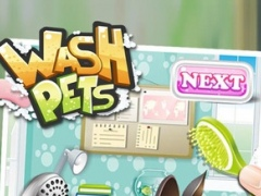 Wash Pets - virtual pet fun spa fasion food kids games for boys girls 1.0.3 Screenshot