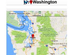 Washington Map 0.0.1 Screenshot