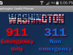 Washington Useful Phones 2.0 Screenshot