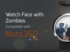 Watch Face with Zombies 1.4 Screenshot