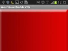 WatchGuard Mobile VPN 1.0.0 Screenshot
