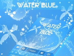 Water Blue Keyboard GO 4.172.54.79 Screenshot