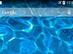 Review Screenshot - Live Wallpaper – Turn Your Phone's Screen into a Water Body