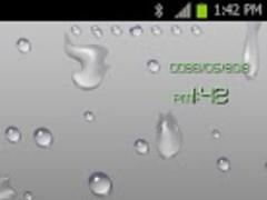 Water Drop Theme Go LauncherEX 1.0 Screenshot