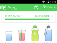 Review Screenshot - Helping You Reach Your Daily Water Intake Goals