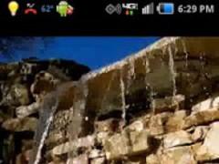 Waterfall LWP 1.0.1 Screenshot