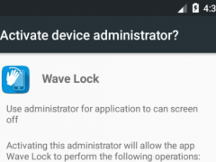 Wave to Unlock and Lock 1.8.9.5 Screenshot