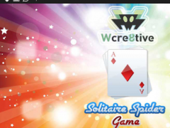 Wcre8tive Solitaire Spider 1.0 Screenshot