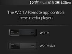 WD TV Remote 2.0.1 Screenshot