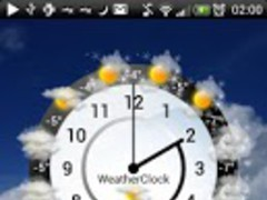 Weather Clock Unlock 1.0 Screenshot