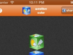 Weather Cube 1.1 Screenshot