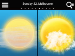 Weather for Australia  Screenshot