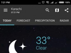 Review Screenshot - Weather Widget – All the Weather Information Your Will Ever Need