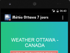 Weather Ottawa Canada 1.0 Screenshot