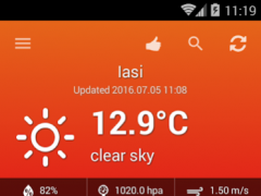 Weather Romania 1.0.2 Screenshot