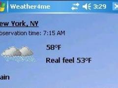Weather4me 1.0.3 Screenshot